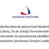 student a odvody do socialnej poistovne