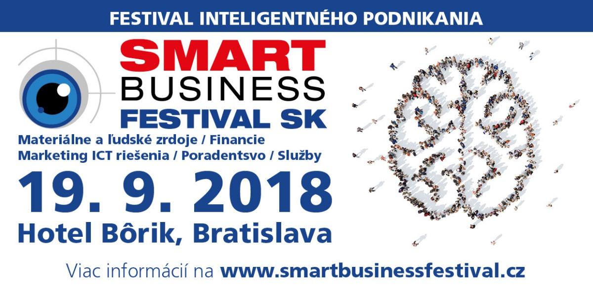 smart business festival Slovensko 2018