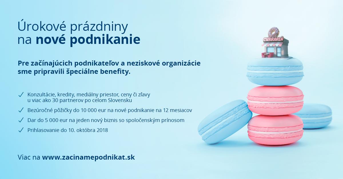 urokove prazdniny slovenska sporitelna podnikanie