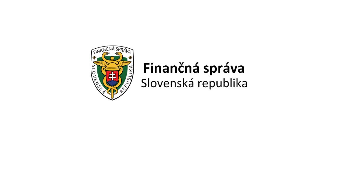 finančná správa