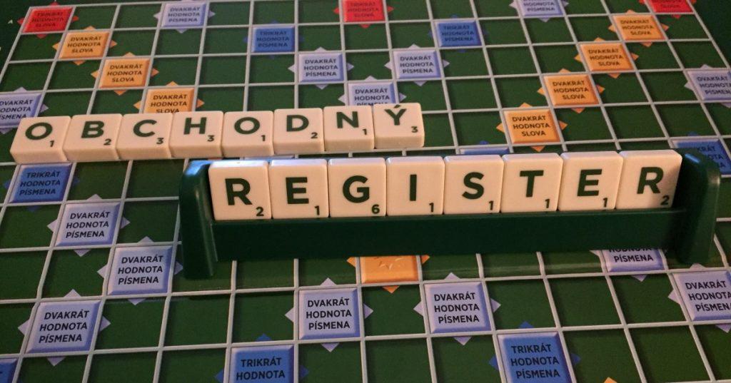 obchodny register s.r.o podvod