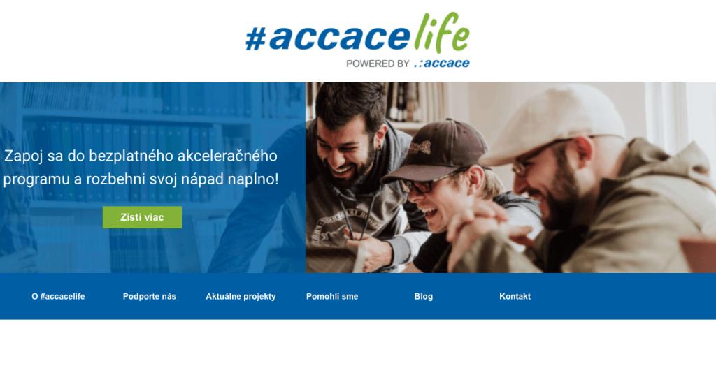 Akcelerátor pre startupy a začínajúcich podnikateľov #accacelife