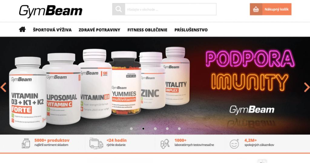 E-shop GymBeam extrémne rástol aj počas korona krízy