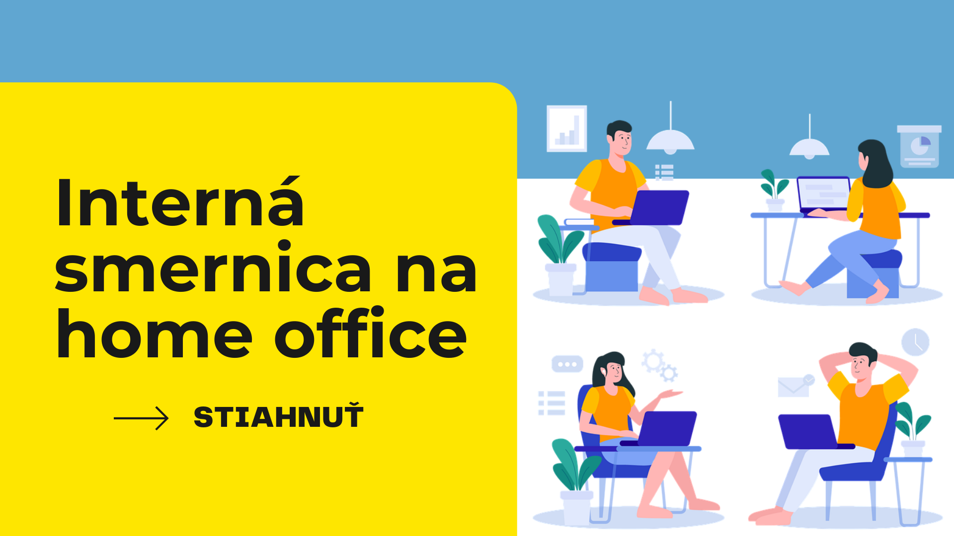 Interná smernica na HOME OFFICE
