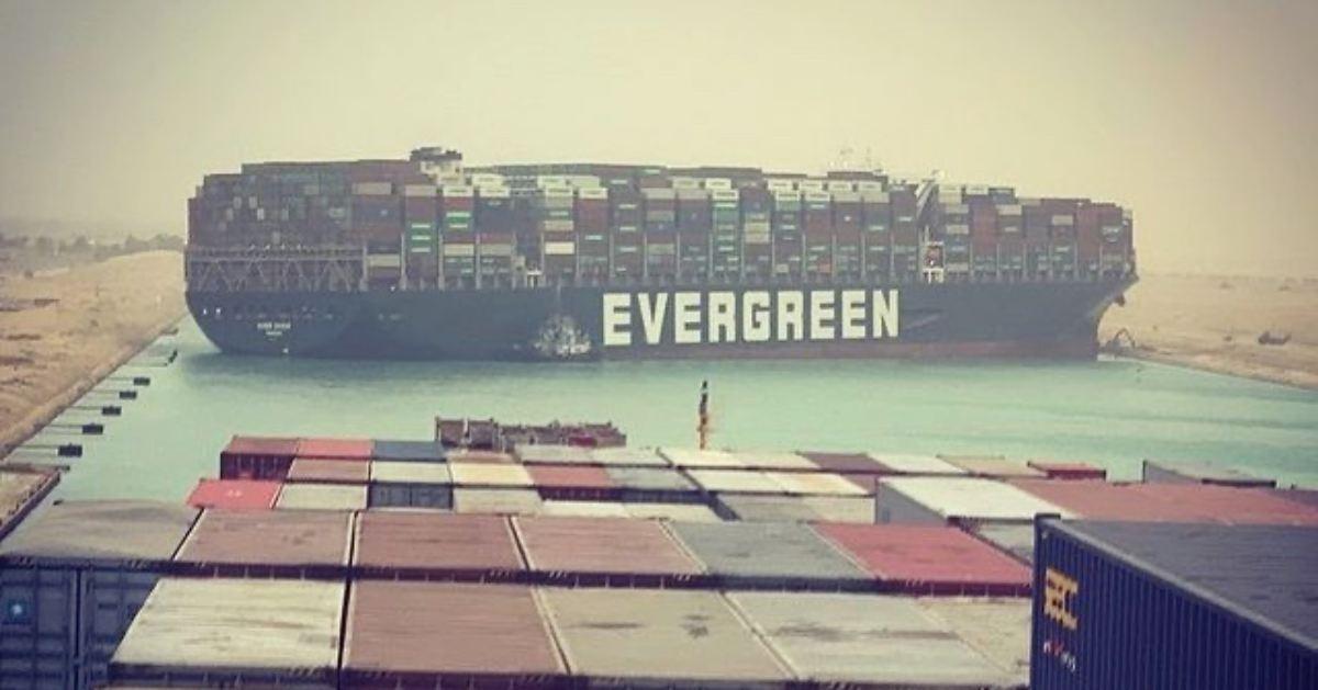 Kontajnerová loď Evergreen